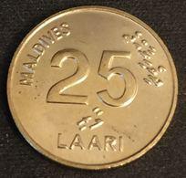 MALDIVES - 25 LAARI 1984 - KM 71 - Maldives