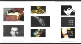 """3 CPM.   Caen.   """"Cinéma Et Peinture"""".   Janvier 2005.   Godard,  Rohmer....   Postcard. - Caen"""