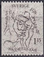 Schweden, 1982, Mi. Nr. 1195, MNH **, Elin Wägner. - Suède