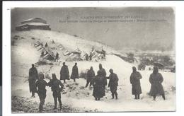 MACEDOINE SERBE  SERBIA - DEMIR KAPOU - Poilus Français à Demir-Capous Dans La Neige (1917) Buy It Now ! - Macedonia