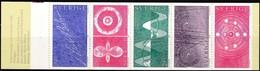 Schweden, 1982, Mi. Nr. 1214/18 MH 91, MNH **, Nobelpreisträger Für Atomphysik. - Unused Stamps