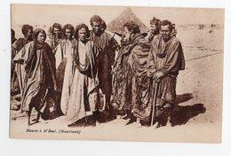 MAURITANIE * AFRIQUE * MAURES A M'BOUT * Carte Sépia - Mauritanië