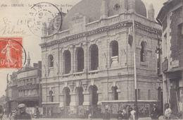 DENAIN  Le Théâtre Et La Salle Des Fêtes - Denain