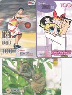 3 Télécartes PHILIPPINES - Philippines