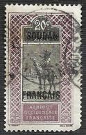 SOUDAN   1921 - YT 26  - Oblitéré - Used Stamps