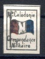RC 17146 NOUVELLE CALÉDONIE VIGNETTE DE FRANCHISE MILITAIRE NEUF (*) TB MNG VF - New Caledonia
