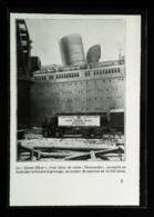 """New York """"S/S QUEEN MARY""""   Camion Citerne De La Mobiloil  - Coupure De Presse (encadré Photo) De 1936 - Camions"""
