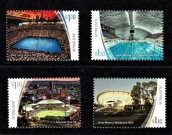 Australia 2020 Sports Stadiums Part II Set Of 4 MNH - 2010-... Elizabeth II