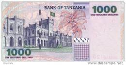 TANZANIA P. 36a 1000 S 2003 UNC - Tanzanie