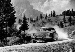 Citroen ID19 De Mmes Bouchet-Kissel Aborde Les Dolomites Au Cours Du Marathon Liege-Sofia-Liege 1962 - CPM - Rally Racing