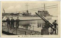 TORPILLEURS -  SAINT MALO Dpt 35 - Bateaux