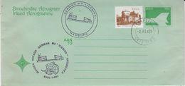South Africa 1984 Maiden Voyage MV Icebird / Aerogramme (47356) - Poolvluchten