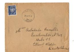 B4 11 09 1944 Lettre Pour 'un STO - Marcophilie (Lettres)