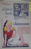 Buvard – L'amiénoise – Gutenberg Jean - Biscottes - Alimentaire