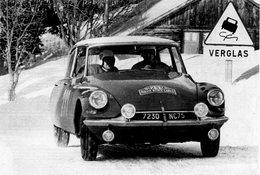 Citroen DS19  -  Rallye Monte-Carlo 1963  -  Pilote: Pauli Toivonen  - CPM - Rally Racing