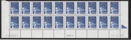 BAS DE FEUILLE MARIANNE DE LUQUET  2 Frs .Coin Daté - 1990-1999