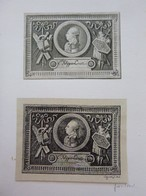 Lot De 2 Ex-libris Illustré D'un Portrait Italien XVIIIème (dont Un Fac-similé) - Filippo LINATI (Parme) - Ex Libris