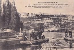 BESANCON HISTORIQUE          LES PONTONNIERS DU GENIE...... - Besancon