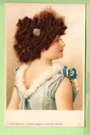 Cheveux Véritables, Jeune Fille Rousse  Et Bouclée. 2 Scans. Edition Schwidernoch, Deutsch Wagram - Unclassified