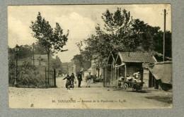 CPA Animee Ecrite TOULOUSE Avenue De Le Poudrerie 1910 ' Old Guioni PC L.M. - Toulouse