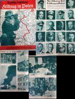 WW II Zeitschrift , Deutsche Infanterie , Feldzug In Polen ,Oktober 1939: 42 Seiten , Adolf Hitler , Deutsche Generäle - Germany