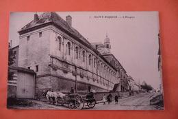 CPA 80 SOMME SAINT RIQUIER. L Hospice. - Saint Riquier