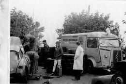 Citroen Tube H HY  Michelin Rallye Service  -  1960   -  CPM - Camions & Poids Lourds