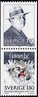 Schweden, 1983, Mi. Nr. 1249/50, MNH **, Hjalmar Bergman - Sweden