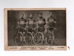 CYCLISME   Tour De France  1928  EQUIPE AUSTRALIENNE  Avec OPPERMAN - Cyclisme