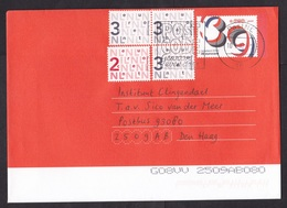 Netherlands: Stationery Cover, 2012, 4 Extra Stamps, New Name Postal Service: TNT Post (traces Of Use) - Periodo 1980 - ... (Beatrix)