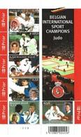 2005 - Judo En Belgique BL121 - Kleinbögen