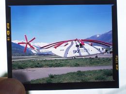 DIAPOSITIVA / SLIDE ELICOTTERO MI 26 SKYTEC  RA-05041 - Aviation
