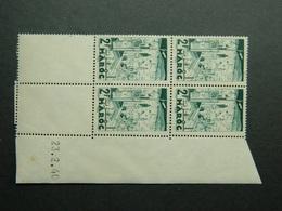 Maroc Yvert 188 Coin Daté 23.2.40 - Nuevos