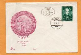 Austria 1951 FDC - FDC
