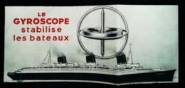 GYROSCOPE Pour Paquebot Transatlantique - Coupure De Presse (illustration) 1935 - Autres Appareils