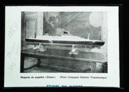 """Chantier Saint Nazaire """"Première Maquette D'étude Du Paquebot FRANCE"""" - Coupure De Presse (illustration) 1959 - Bâteaux"""