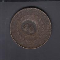 Coin 40 Reis - Brasilien