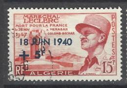 Algeria - 1957 - Usato/used - Overprint - Mi N. 367 - Algeria (1924-1962)