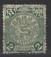 Cina - 1908 - Usato/used - Ordinari - Mi N. 72 - Cina