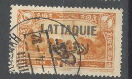 Lattaquie - 1931 - Usato/used - Overprint - Mi N. 77 - Lattachia (1931-1933)