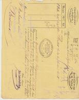 Ht RHIN : J. BARTHELEMY Manufacture De Toiles à Alspach Près Colmar / L. De Voiture De 1840 Pour Bordeaux - Transporte
