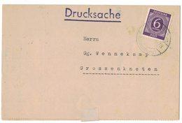 IB73   Germany 1946 Drucksache To Grossenkneten - Briefe U. Dokumente