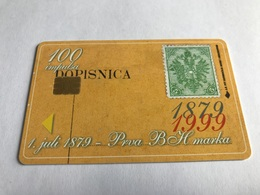 4:038 - Bosnia  Chip Stamp - Bosnia