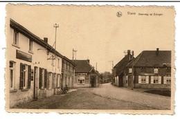 Viane - Steenweg Op Edingen - Cafés - Uitg. G. Demulder, Viane-Moerbeke - 2 Scans - Geraardsbergen