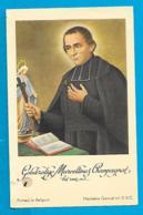 Relic   Reliquia    St. Marcellinus Champagnat - Devotieprenten