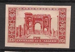 Algérie - 1930 - N°Yv. 91 - Centenaire 30c+30c - Non Dentelé / Imperf. - Neuf Luxe ** / MNH / Postfrisch - Algeria (1924-1962)