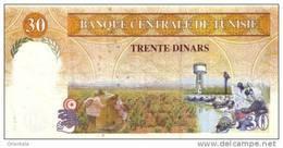 TUNISIA P. 89 30 D 1992 UNC - Tunisia