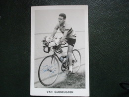 Cyclisme Photo Signee Martin Van Geneugden Tour De France - Cyclisme