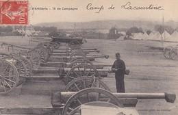 Artillerie 75 De Campagne Camp De Lacourtine - Caserme