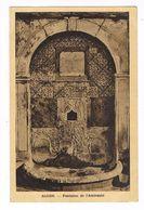 CPA. Alger. Fontaine De L'Amirauté. Timbre Taxe Au Dos  (P.268) - Algeri